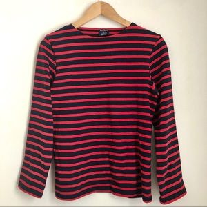 Saint James for J. Crew Striped Top